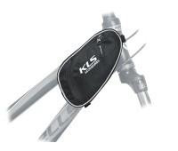 Сумка для велосипеда на раму передняя Kellys Femini для женской рамы. крепление: ремешки с липучкой.