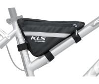 Сумка для велосипеда под раму Kellys Framy объем: 0,6л. цвет: черный. фурнитура: молния YKK