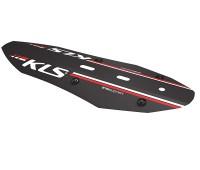 """Крыло переднее KLS Shield F: 24""""-26"""", цвет чёрный"""