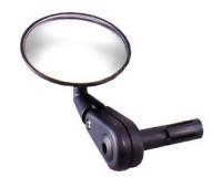 "Зеркало ""DX-2002BF"" в торец руля, с мигалкой"