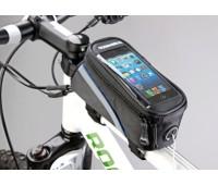 """Сумка для велосипеда Mingda сумка на раму l18.5хh8,5хw8.5 с отделением для смартфона, окошко 4,8"""""""