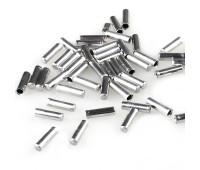 Наконечник троса Shimano алюминиевый, 100шт