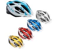 "Шлем Met ""Xilo"", размер S, синий-белый/серебро"