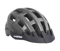 Шлем велосипедный Lazer Compact цвет титан размер U