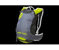 """Рюкзак KLS """"Limit"""": цвет серый/зелёный"""