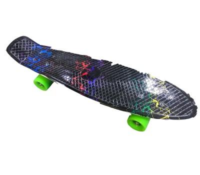 """Скейт RW-Sport модель 27B-1 """"Черная молния"""""""