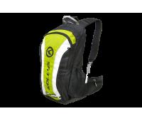 """Рюкзак KLS """"Explore"""": объём 20л, цвет зелёный/чёрный"""