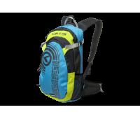 """Рюкзак KLS """"Hunter"""": объём 15л, цвет синий/зелёный"""