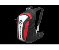"""Рюкзак KLS """"Explore"""": объём 20л, цвет красный/чёрный"""