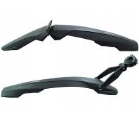 """Крылья Simpla ADHD SDR Long для велосипедов 27.5""""-29"""" с амортизаторами, черные"""