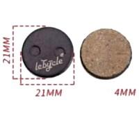 Колодки тормозные D-br LeBycle LE-19P